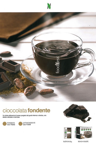Foodness cioccolata busta x 15 gusti fondenti