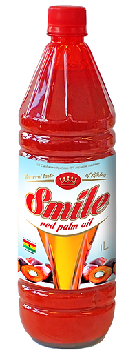 bottiglia Smile red palm oil