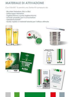 Heineken materiale