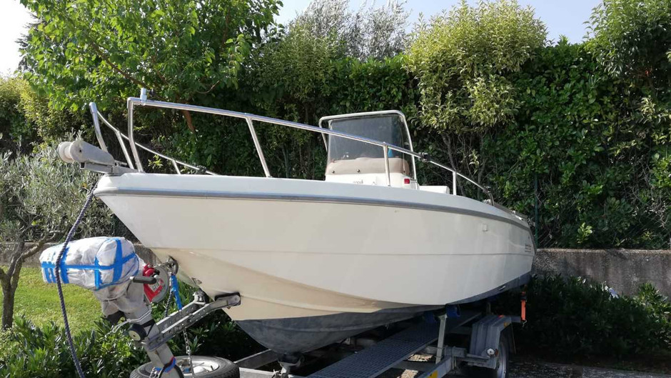 Vendo barca, open Capelli 17 con motore Mercury 75 cv