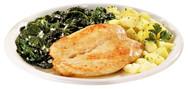 Petto di pollo con spinaci