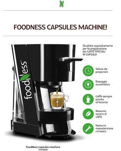 Foodness macchina capsule Zoro