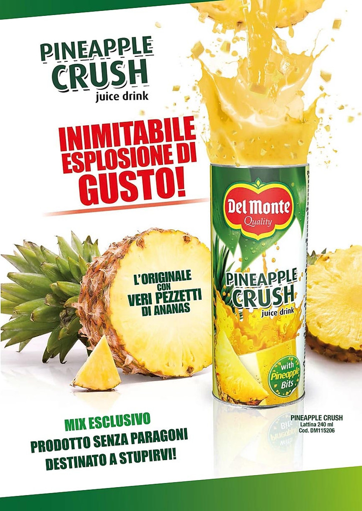 Del Monte ananas crush lattina