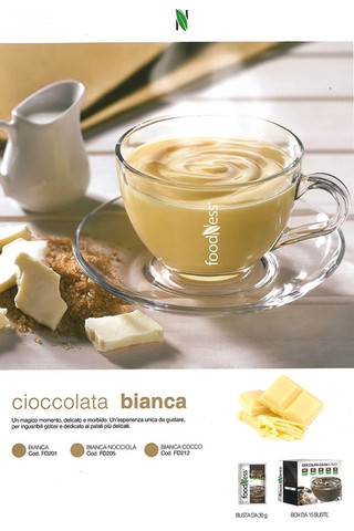 Foodness cioccolata bianca busta x 15