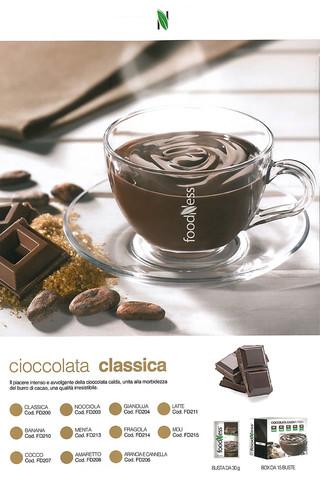 Foodness cioccolata busta x 15 gusti classici