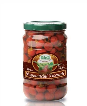 Belotti peperoncini rossi piccanti 1700