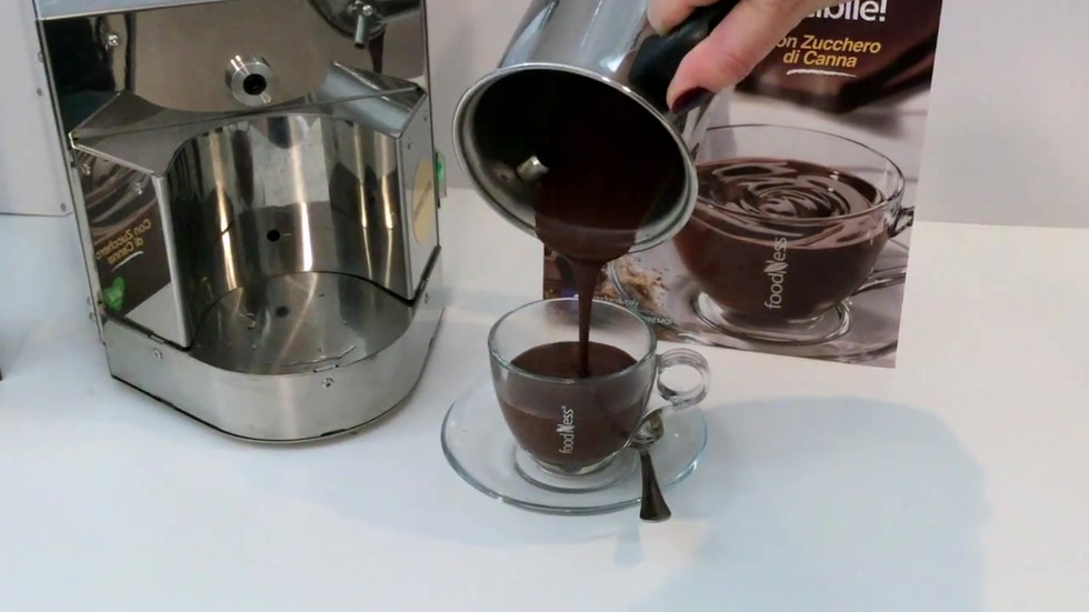 Foodness- preparazione Cioccolata - Hot