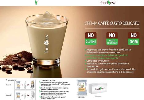 Foodness crema fredda al caffè