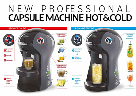Foodness macchina capsule Professional Hot Could