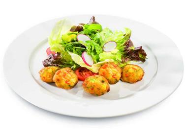 Mini palline di verdure