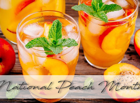 August | National Peach Month