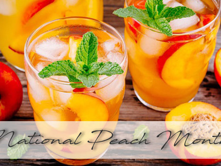 August | National Peach Month