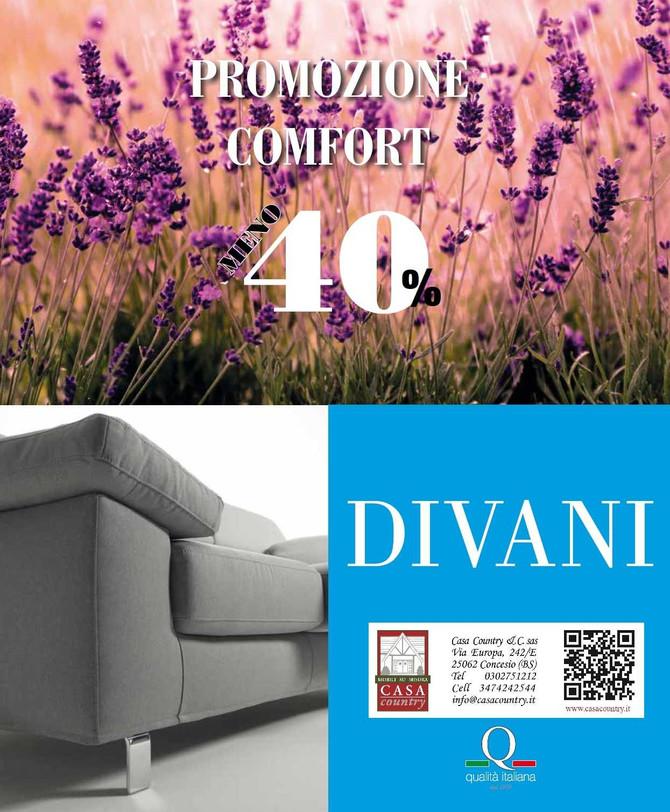Promo confort divani