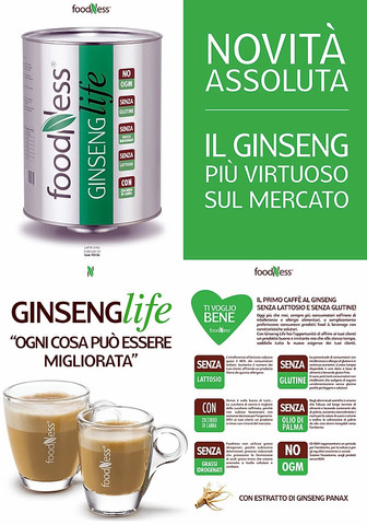 Ginseng Life senza Lattosio senza Glutine