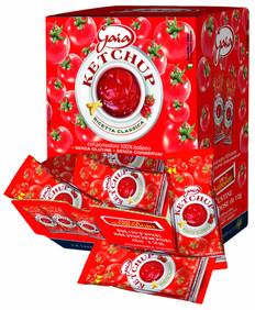 Ketchup Gaia box 102 pz.