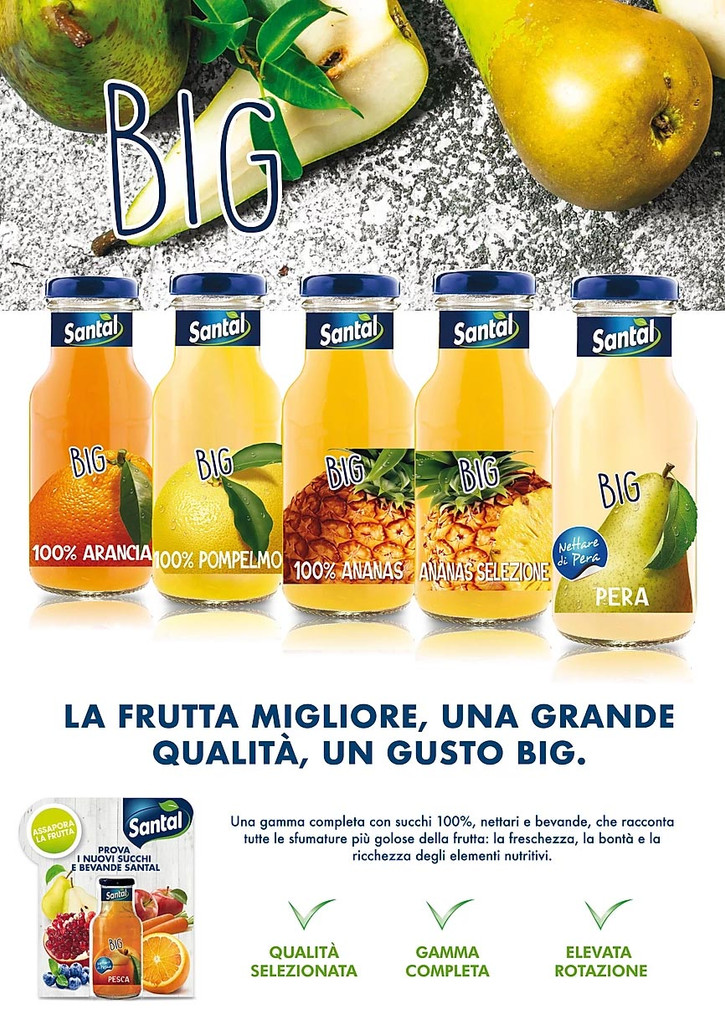 Santal succhi Big Fruit