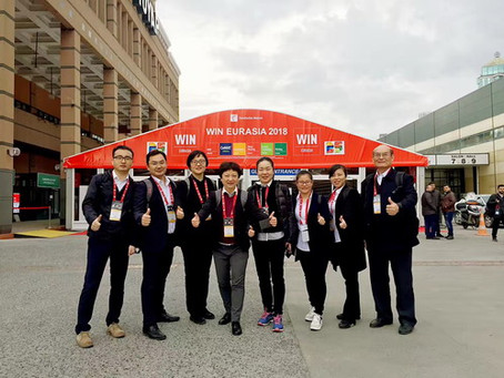 Hua Guang's Exhibition at WIN EUROASIA 2018