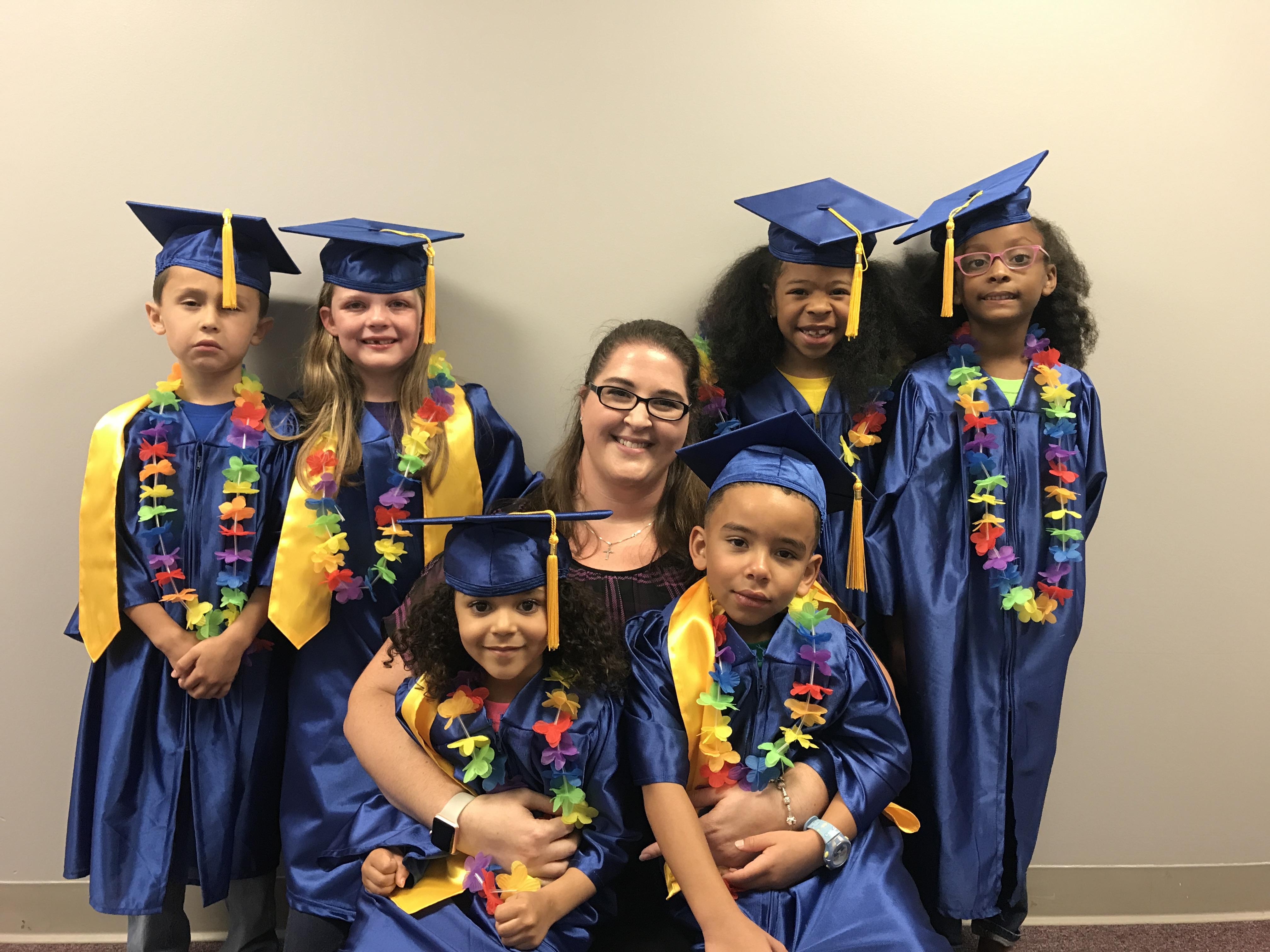 Graduating Kindergarten