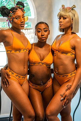 Honey Drip Bralette Set