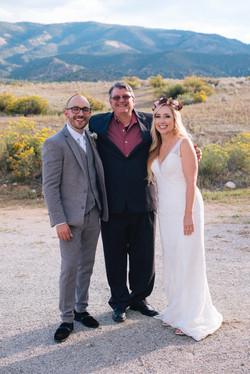 Darren, Me Varinia's Wedding