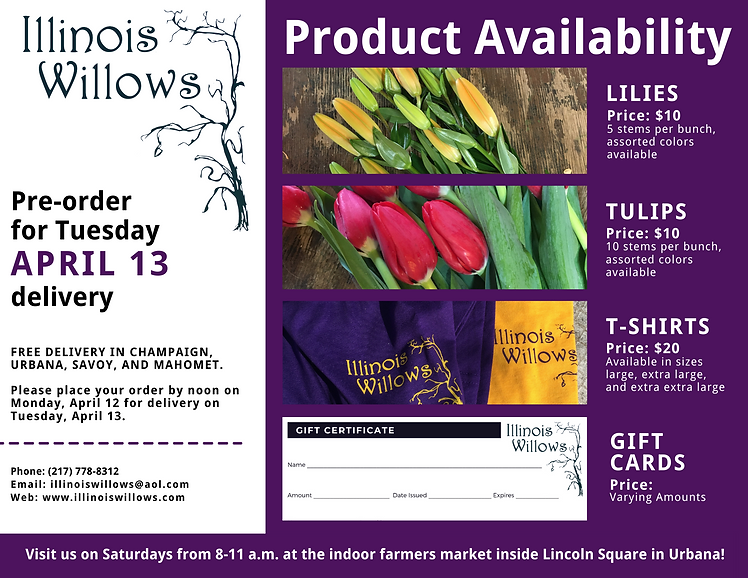 April 13 Delivery Illinois Willows.png