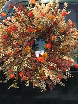 Autumn Dried Wreath