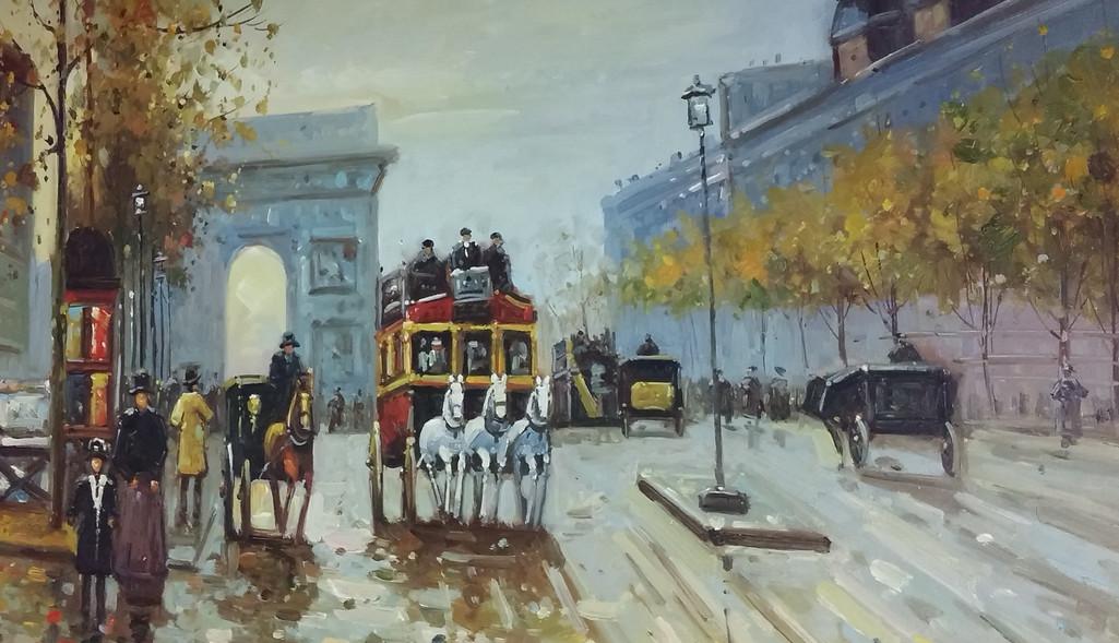 M. Santos Parisian city