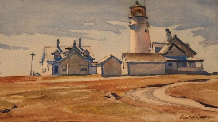1930 Highland light, after James Hopper.