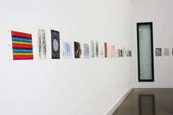 Installation Contemporary Australian Drawing#3 Gallery Langford120, Melbourne.jp