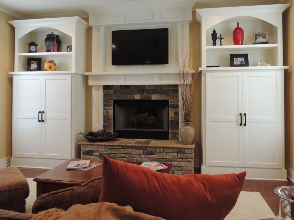 Craftsman Style Bookcases