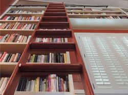 Bookshelves With Ladder
