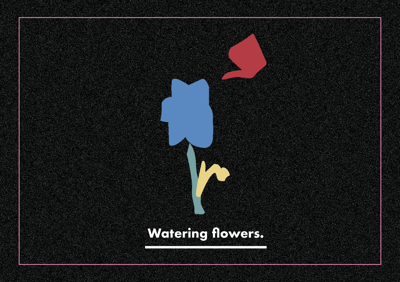 watering flowers1