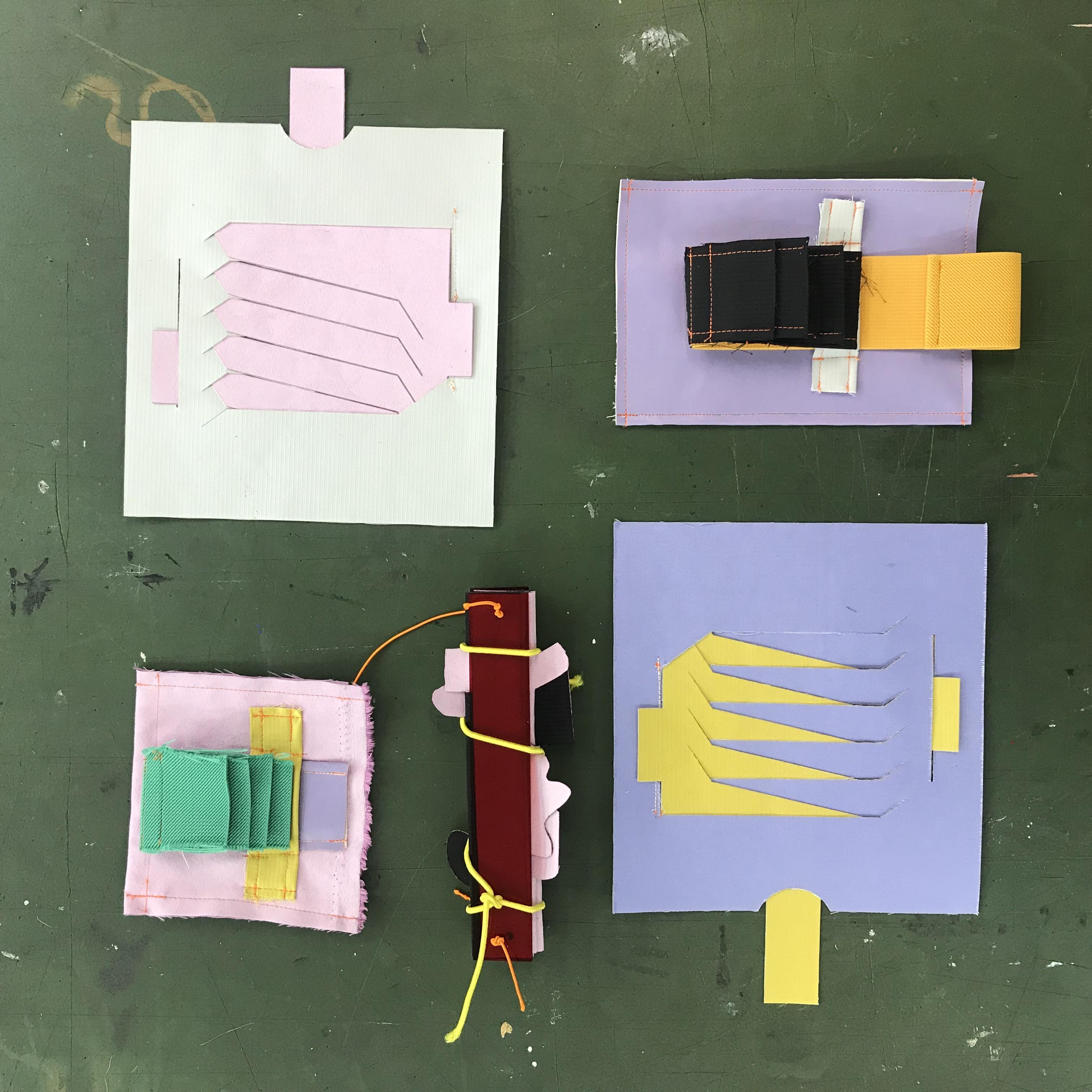 experimental samples
