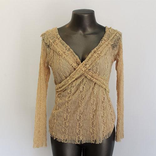 Blusa Vintage Renda
