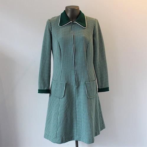 Vestido Anos 60 Xadrez
