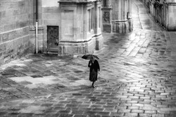 Pèlerinage_-_Mention_114e_-_Humain_N&B_-