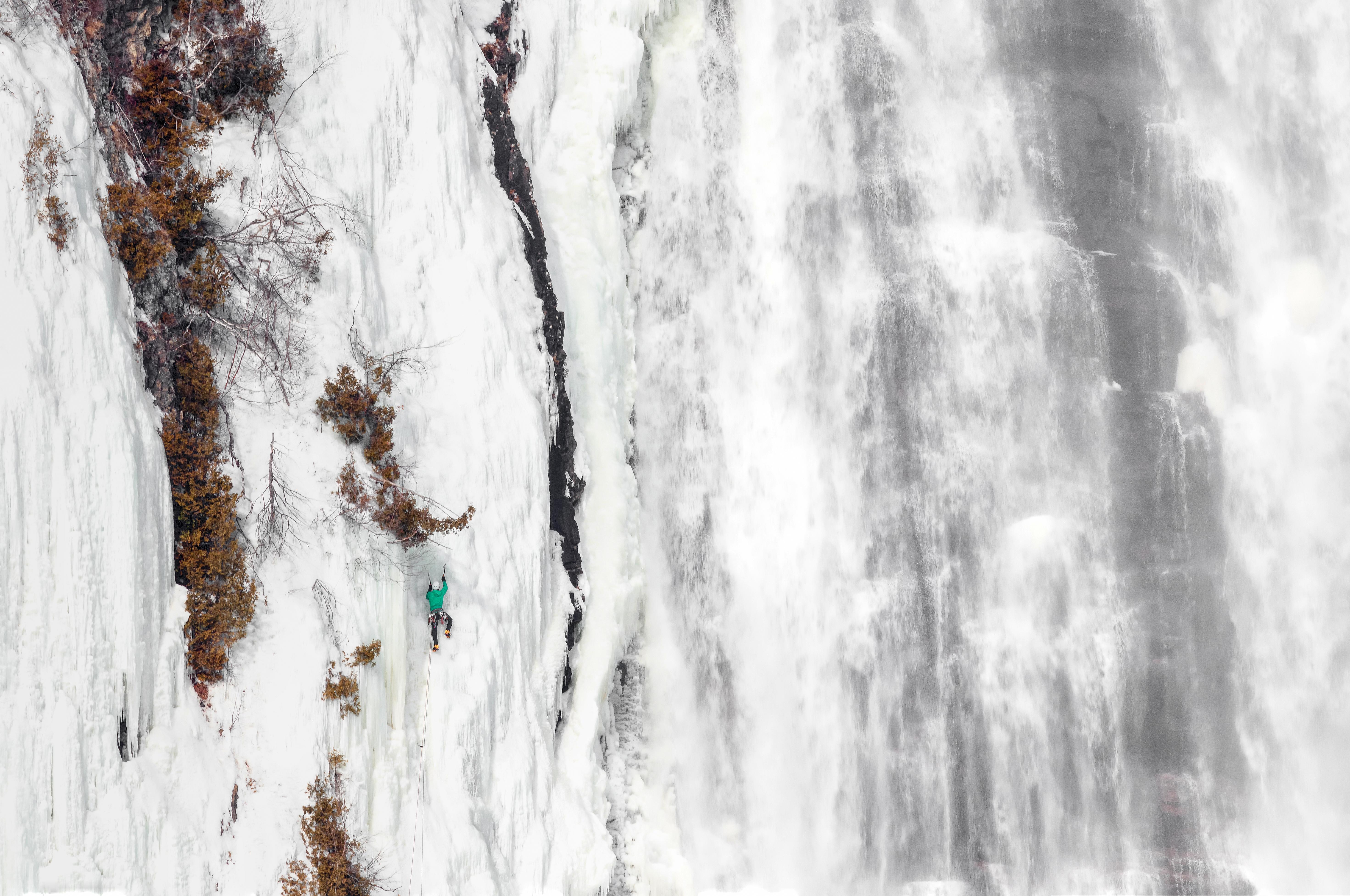 L'escaladeur de glace