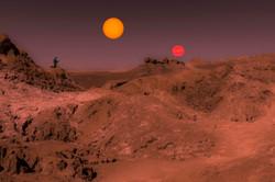 Sunset on Tatooine