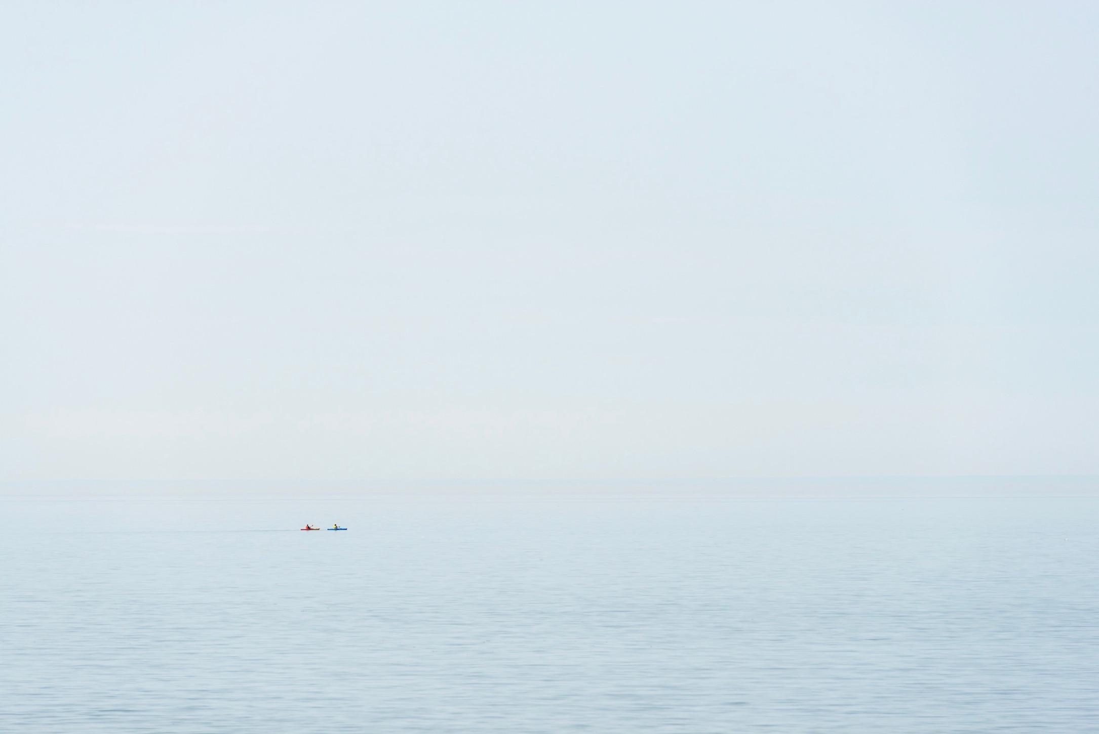 Seuls sur l'eau