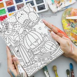 раскраска кактусы_prev_cr