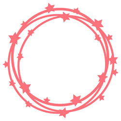 scribble circle frame SVG