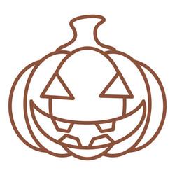 Halloween Pumpkin free SVG