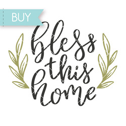 Bless this home SVG cut file for Cricut