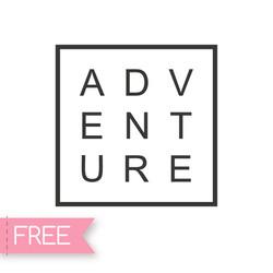 Adventure Free svg cricut files