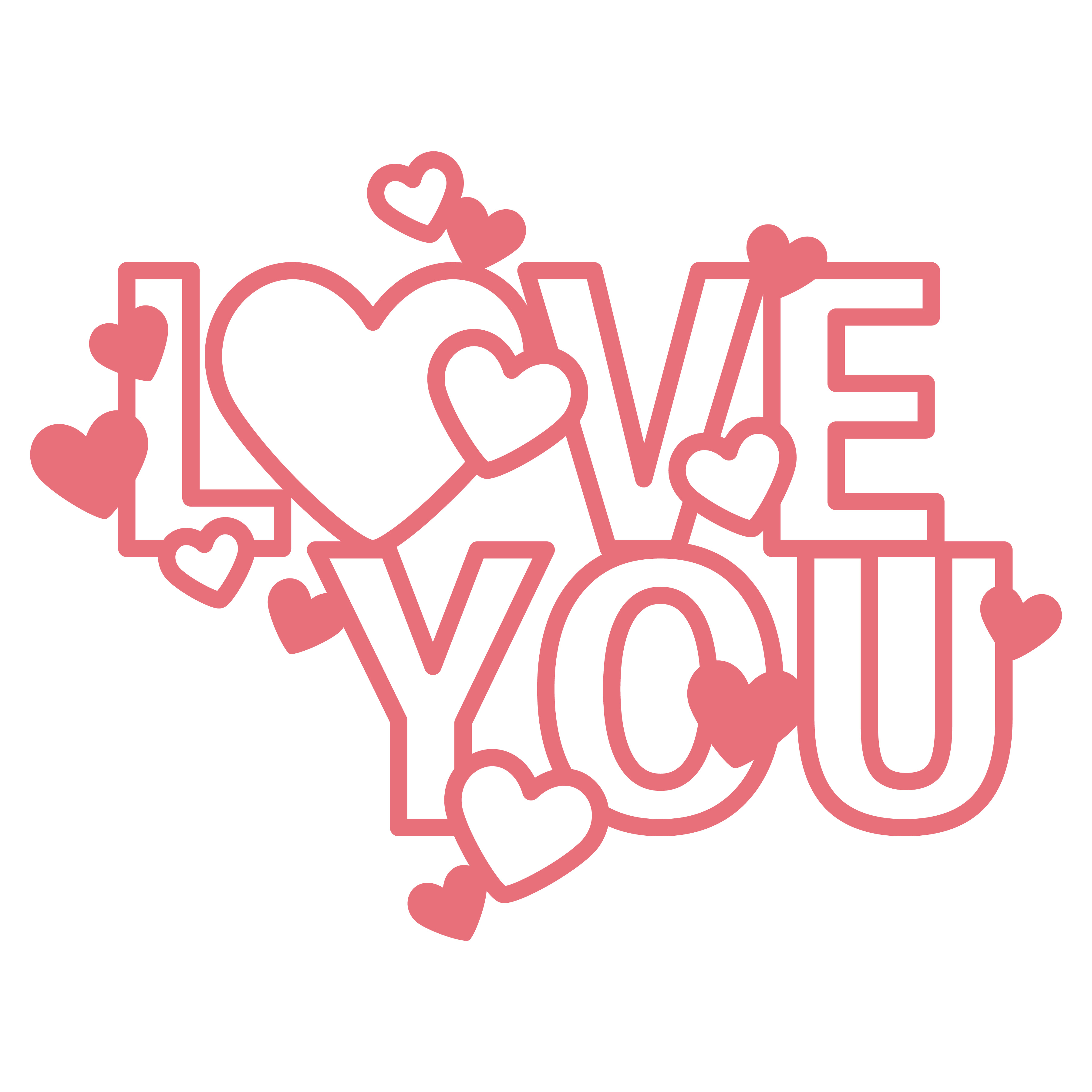 Love heart Free SVG