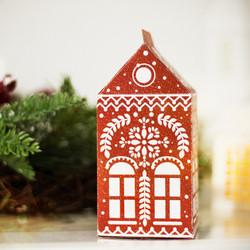 Folk paper house free print