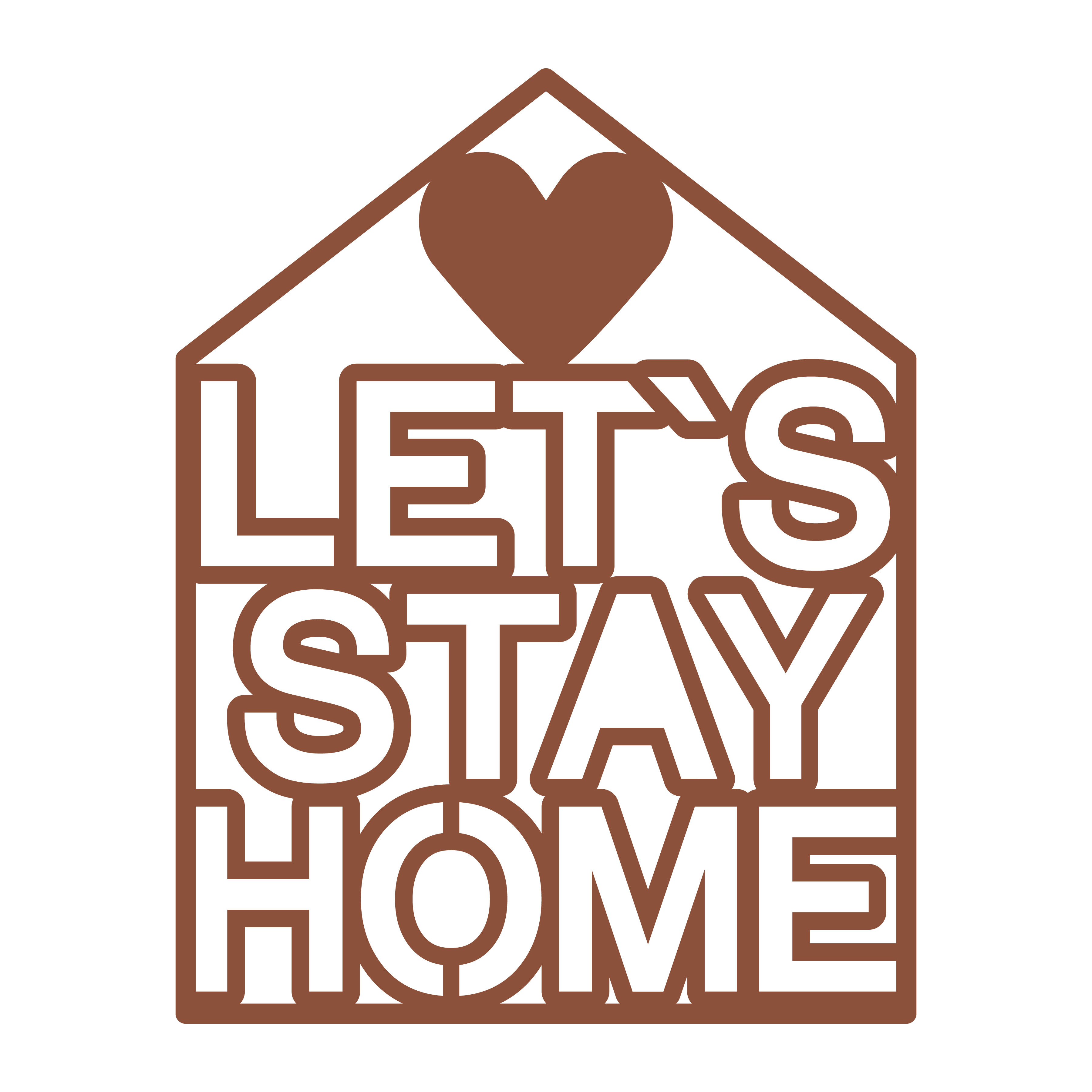 Let`s stay home