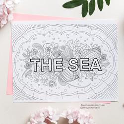 Free SEA color page
