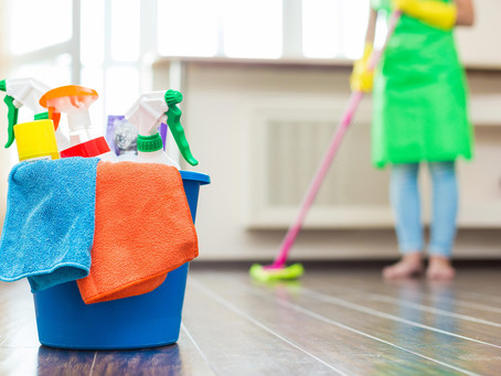 What are the benefits of using a professional cleaning service?