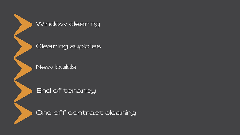 Cleaning list 2